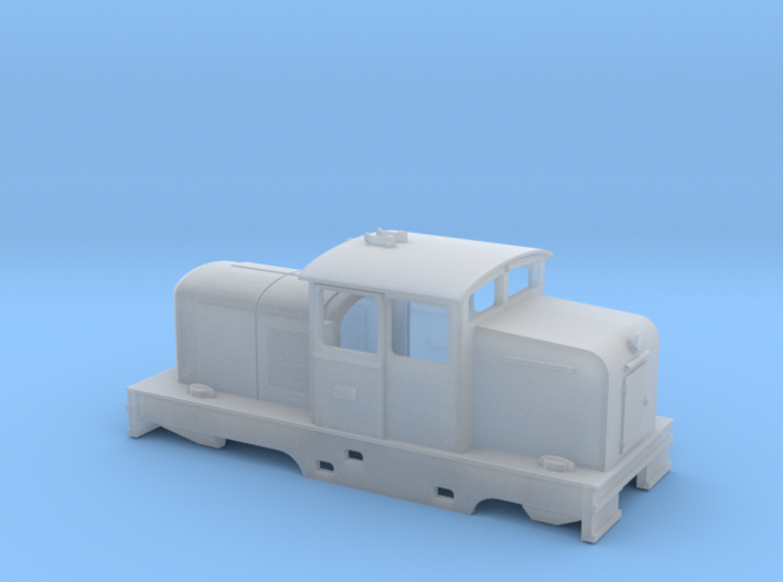 Locotracteur X - valences - Nm 1:160 3d printed