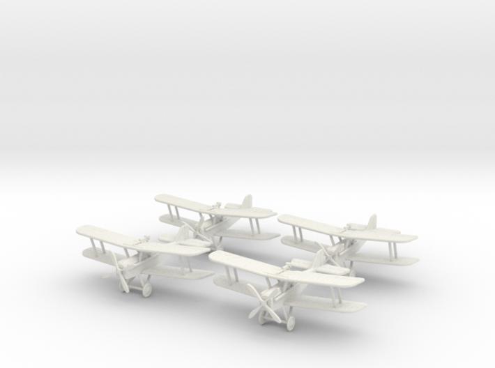 """S.E.5a """"Hispano Flight"""" 1:144th Scale 3d printed"""