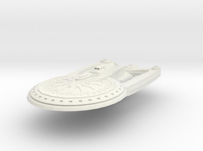 Alaska Class Cruiser Refit 3d printed