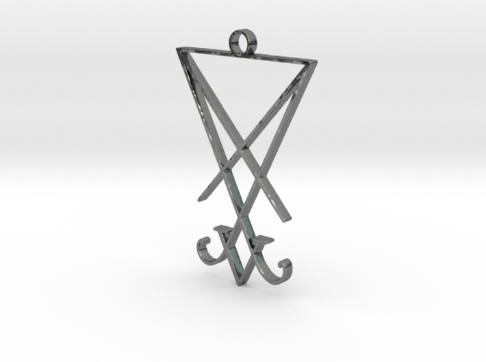 Lucifer's Sigil 3d printed