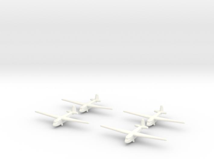 A-7 Russian Glider 1/600 (X4) 3d printed