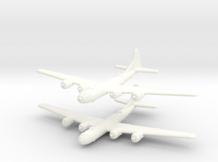 B-29 Superfortress (United States) 1/600-(Qty. 2) 3d printed