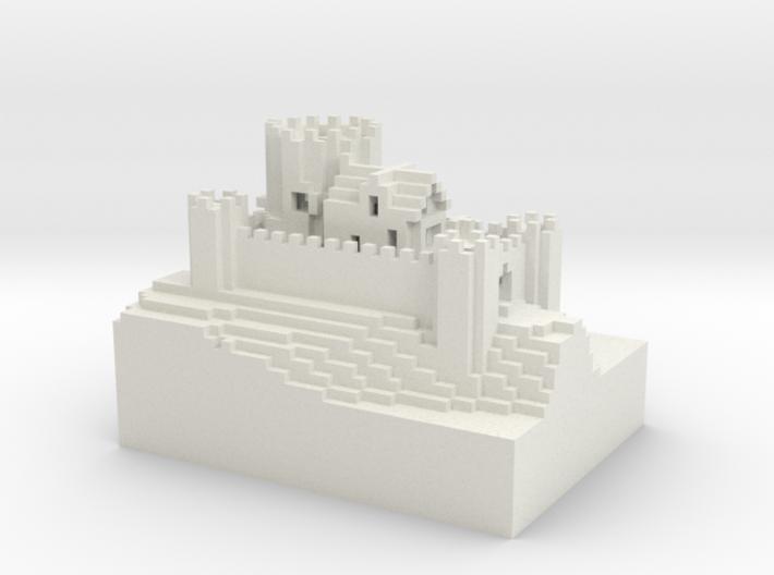 Kiang Castle[sml].wrl 3d printed