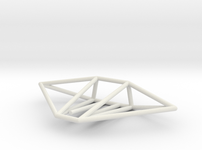 Gecko Wireframe 1-300 3d printed