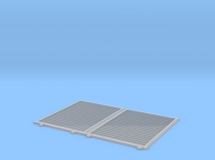 YSD Industries Double 8ft Plate E Door Pair Assy 3d printed