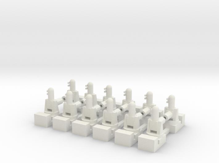 1/285 Phalanx CIWS (x12) 3d printed