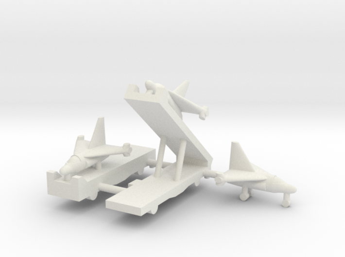 1/285 Experimental Aircraft Set 3 3d printed