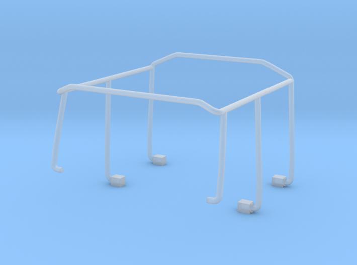 Überschlagbügel komplett für Zetrosdoppelkabine 3d printed