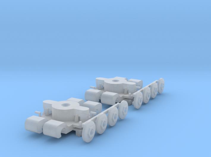 Drehgestell B6A2 Standmodell 1:160 3d printed