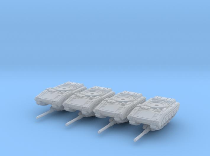 6mm Merka 5 Platoon 3d printed