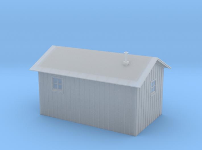 HO Standard Linemens Tool House 3d printed
