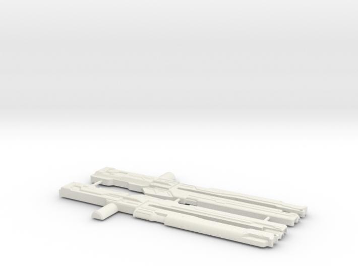 Railgun 3d printed