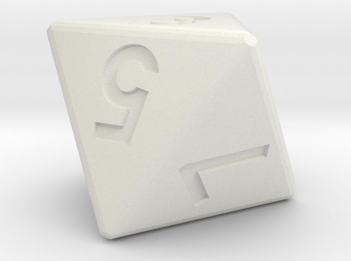 8-sided die (d8) 3d printed