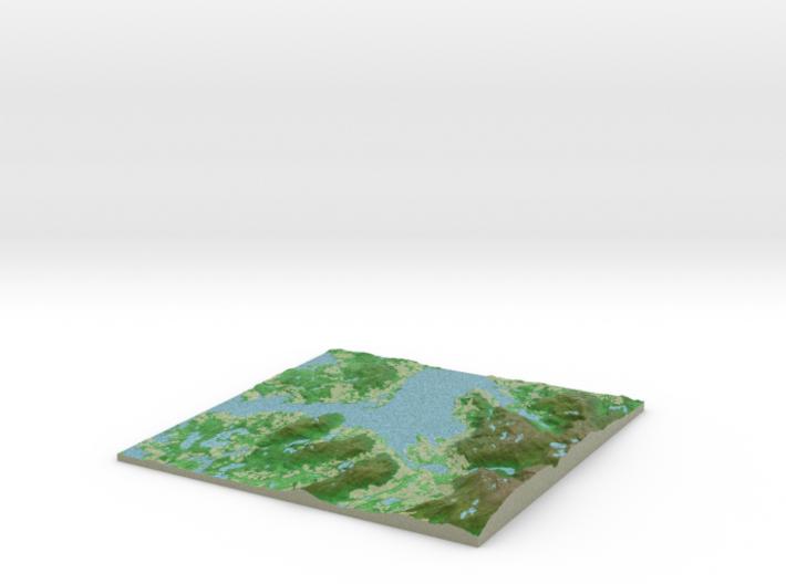 Terrafab generated model Sat May 31 2014 03:55:42 3d printed