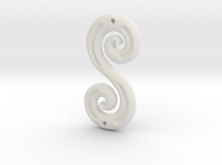DoubleSpiral 3d printed