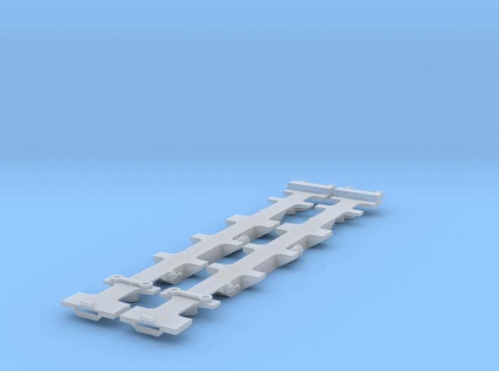 FEA-B Wagon N Gauge 1:148 3d printed