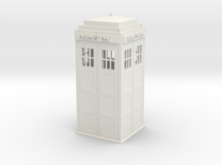 Tardis (repaired) (repaired) 3d printed