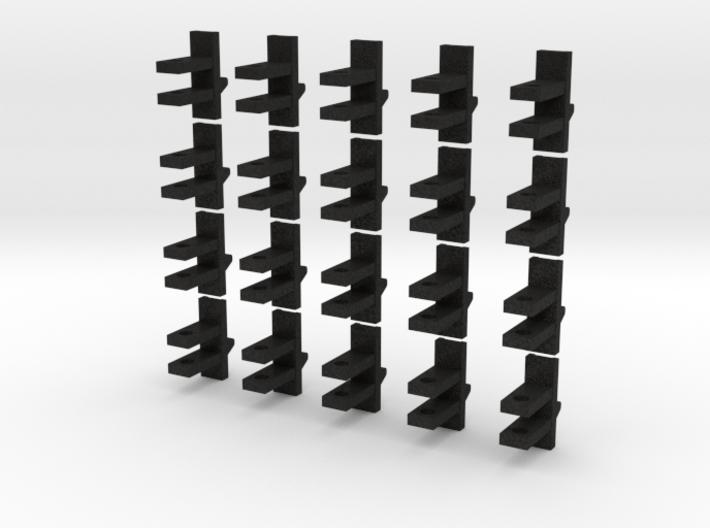 20 piece Header Trailer Bracket 3d printed