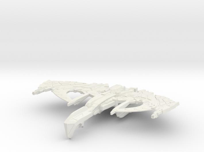 War Thorn Class Battleship 3d printed