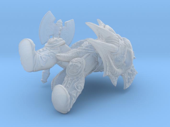 Doom Warrior 3d printed