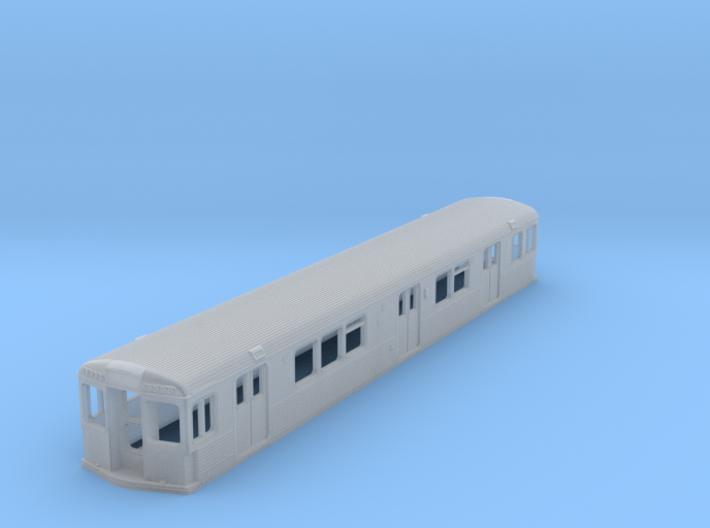 HO SEPTA Kawasaki BIV Subway Shell Double-End 3d printed