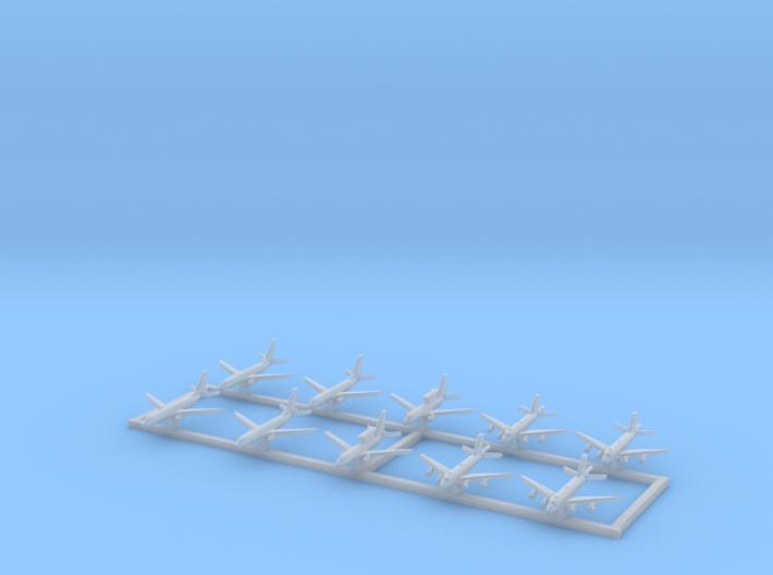 1/2400 Modern Patrol Aircraft 3d printed