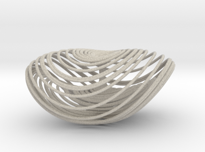 Three Scroll Unified Chaotic System 3d printed