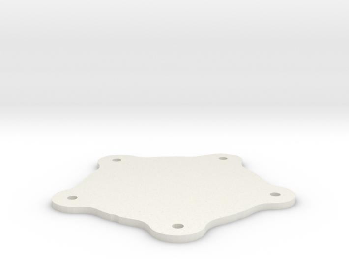Torque Thrust D Centercap Thin 3d printed