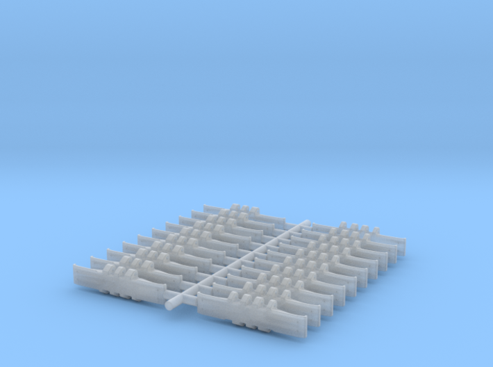 Single Track 20- Piece New 3d printed
