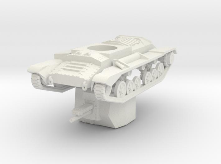 Vehicle- Valentine Tank Bishop (1/72) 3d printed