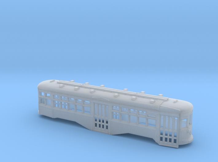 TT 1:120 Scale B&QT 8000-Series Trolley Shell 3d printed