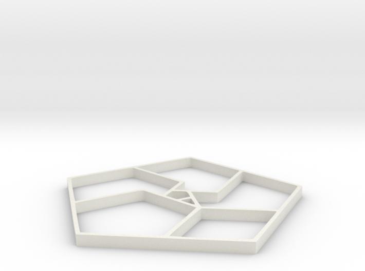 Spiral Life Penta - 2 inch 3d printed