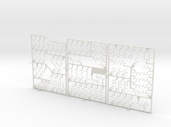 Building a Human - Amino Acids 3d printed