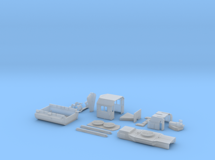 TT GP38-2 Components Only 3d printed