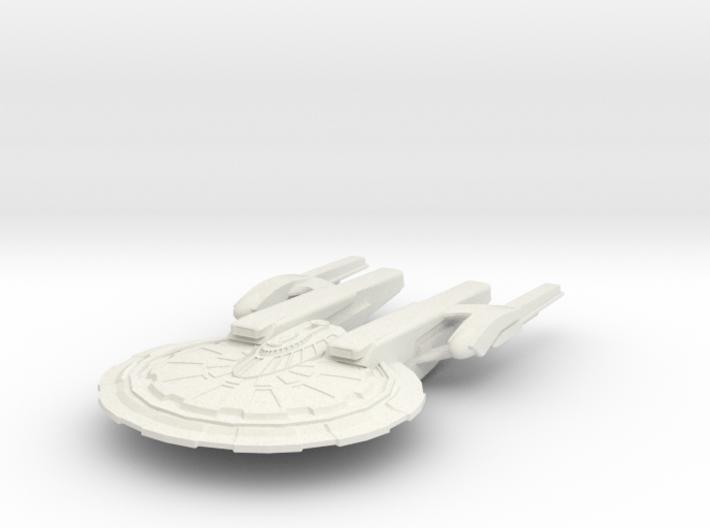 Aiken Class Battleship 3d printed