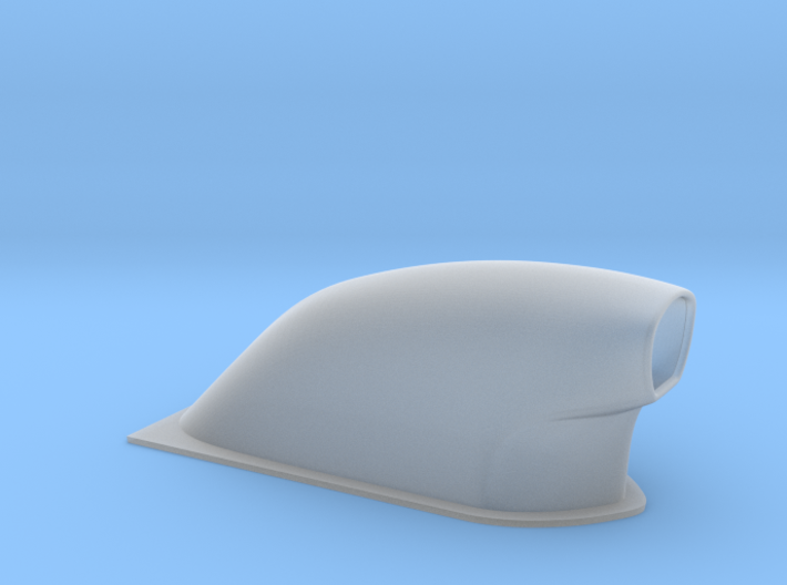 1 12 Small Pro Mod Hood Scoop 3d printed