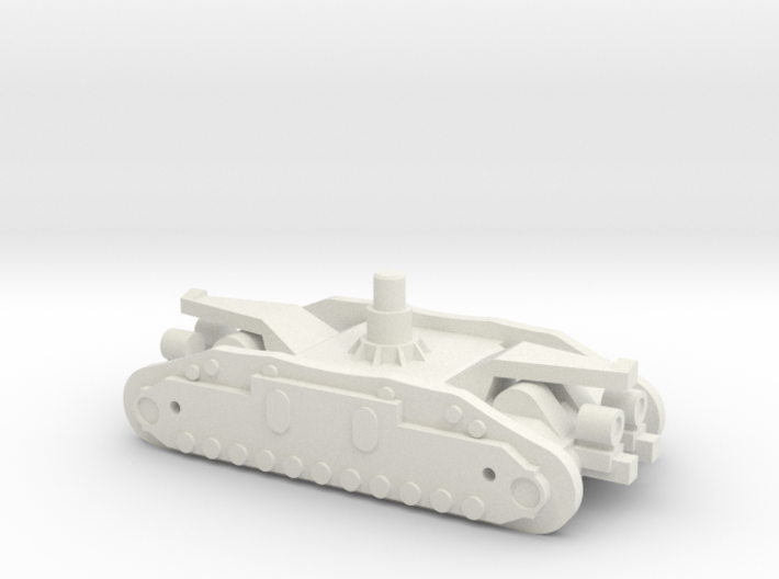1/144 Crawler Unit without tracks 3d printed