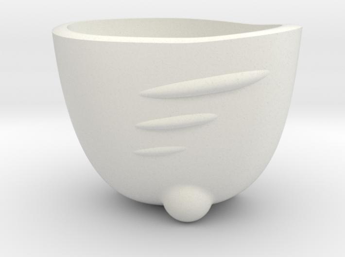 Espresso Shot SpaceShip Cup (no frame) 3d printed