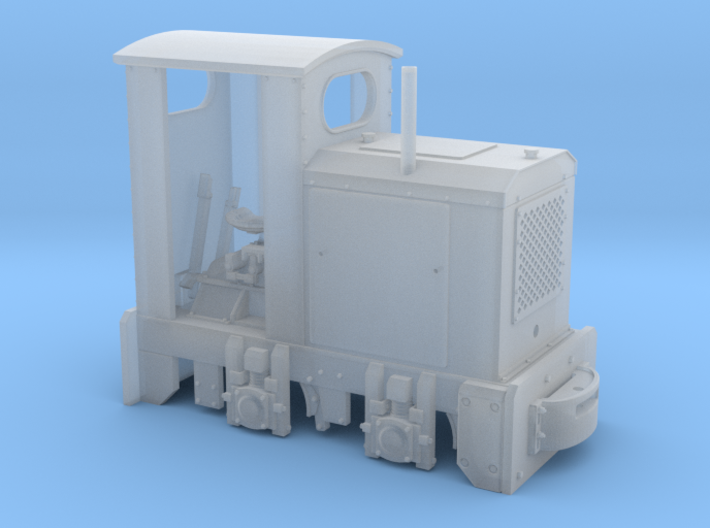 Feldbahn O&K MD2 (Spur 0f) 1:45 mit Kabine 3d printed
