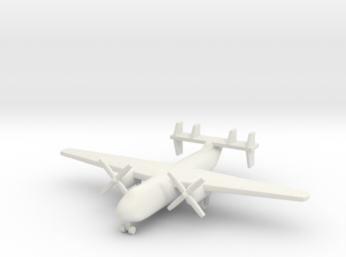1/285 (6mm) C-2 Greyhound  3d printed