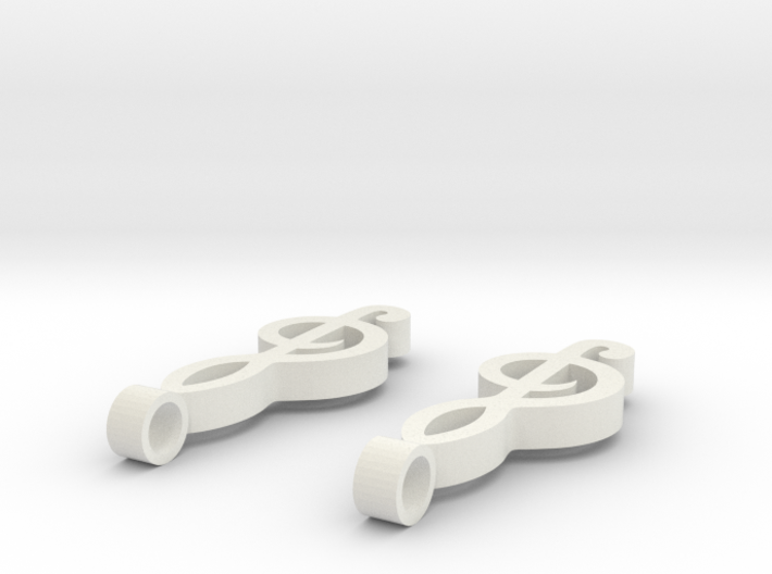 Musical Note 3d printed