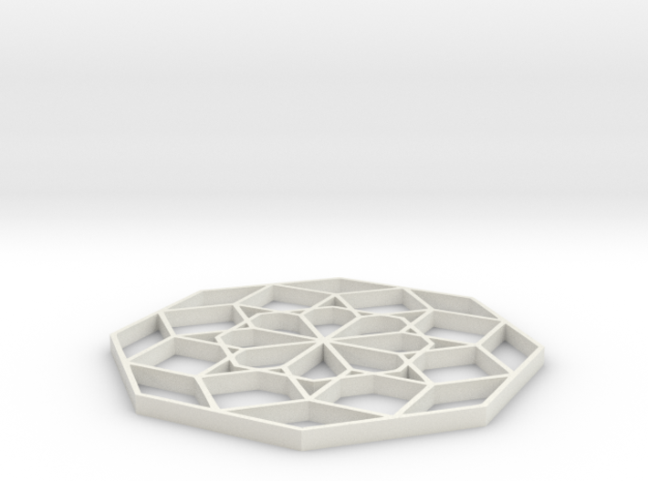 Geoform Sixteen - 2 inch 3d printed