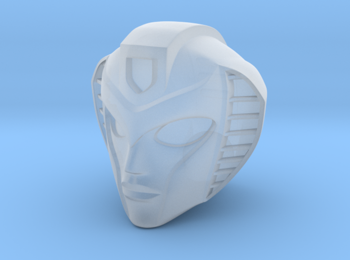 Transformers custom Slipstream head sculpt 3d printed