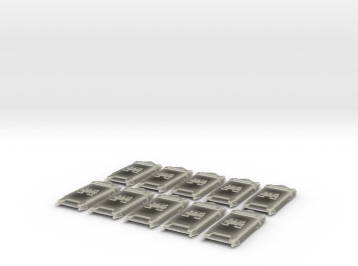 Legion Breacher Shields 3d printed