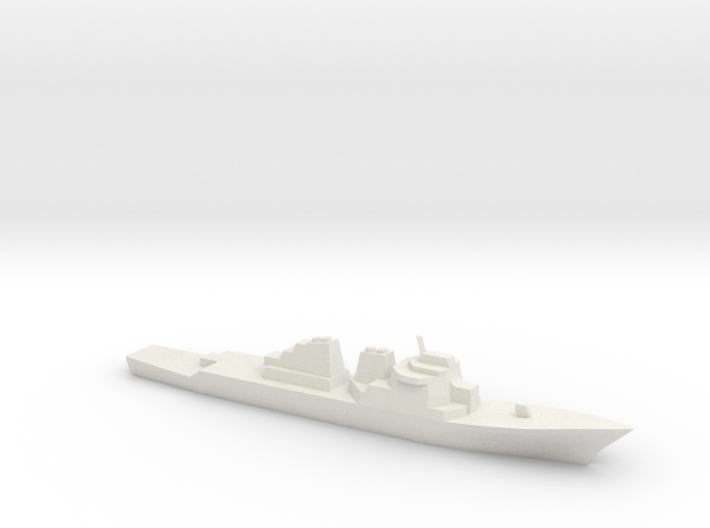 [USN] Arleigh Burke Class 1:1800 3d printed