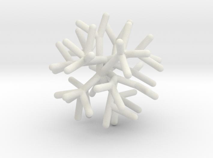 Sphere Tree 5cm (Irregular 4) 3d printed