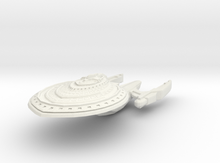 Carolina Class BattleCruiser 3d printed