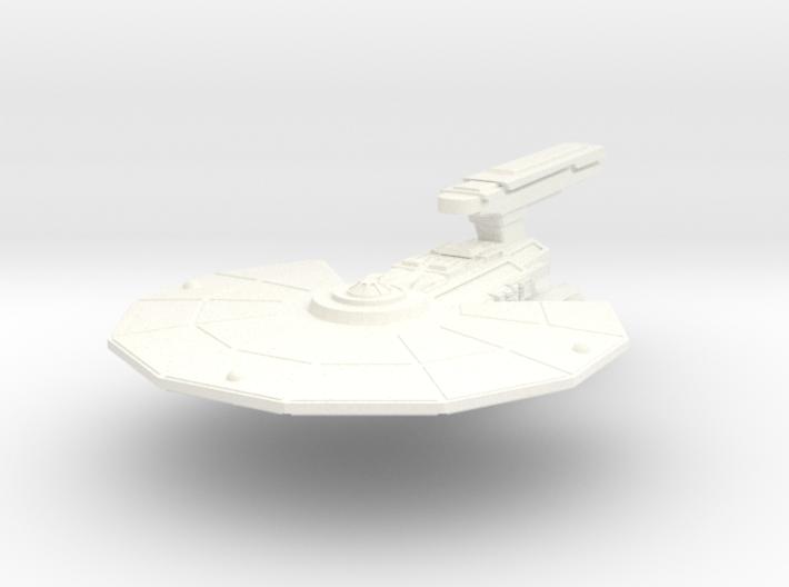 USS Cayton 3d printed