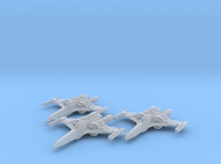 Z-95 Mk4 S Wing 1/270 3d printed