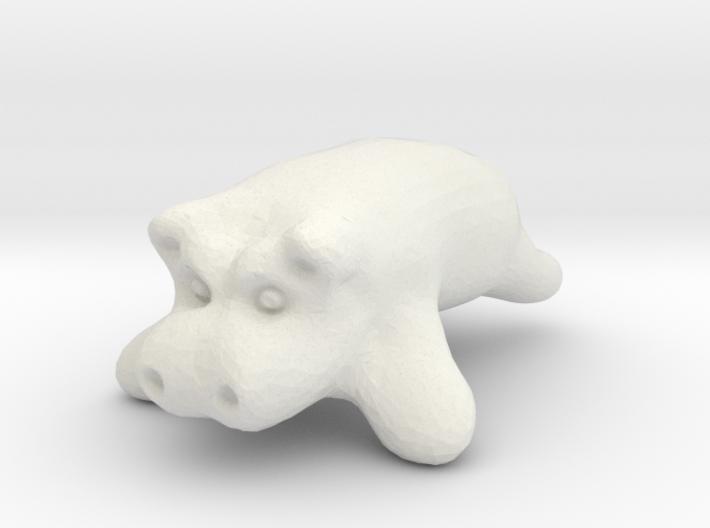 hippipotamus 3d printed